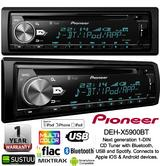 Pioneer DEH-X5900BT Car Stereo 1 Din CD Bluetooth USB Aux Mixtrax Apple Android