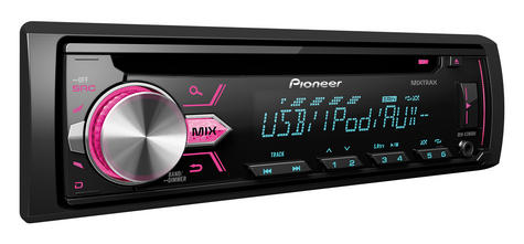 NEW Pioneer Car Stereo RDS Tuner CD USB Aux-In with iPod/iPhone Control MIXTRAX Thumbnail 3