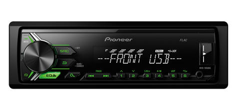 Pioneer MVH 190UBG Digital Car Stereo with RDS Tuner USB Aux-In Supports Android Thumbnail 2