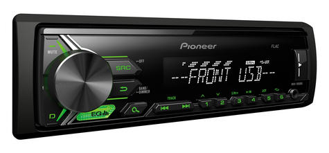 Pioneer MVH 190UBG Digital Car Stereo with RDS Tuner USB Aux-In Supports Android Thumbnail 3