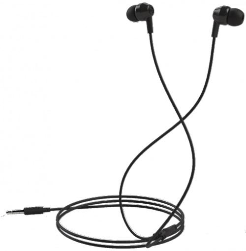 Mixx Soundbuds Black Stereo Noise Reduction In-Ear Headphones MXSB-88-BK-420
