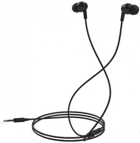 Mixx Soundbuds Black Stereo Noise Reduction In-Ear Headphones MXSB-88-BK-420 Thumbnail 1