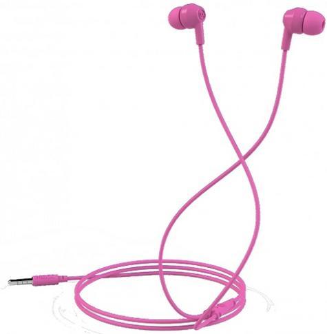 Mixx Soundbuds Pink Stereo Noise Reduction In-Ear Headphones MXSB-88-PK-423 Thumbnail 1