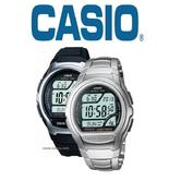 Casio Men's WV-58 Waveceptor Radio Controlled Multiband Digital LED Stop Watch
