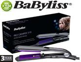 New Babyliss 2165BU Pro Crimper 210 Tourmaline Ceramic Iconic Retro Hair Styling