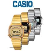 Casio Ladie's Digital Display Stainless Steel Watch