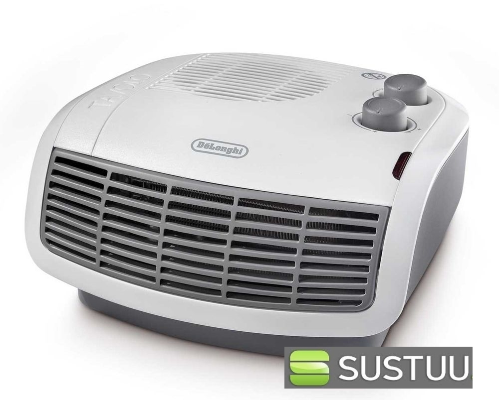 Delonghi HTF3033 3kW Horizontal Fan Electric Heater Frost and Overheat Protected