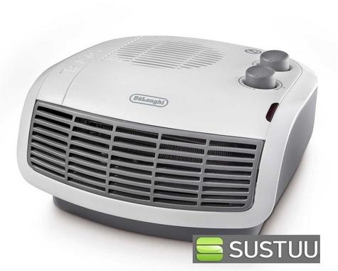 Delonghi HTF3033 3kW Horizontal Fan Electric Heater Frost and Overheat Protected Thumbnail 1