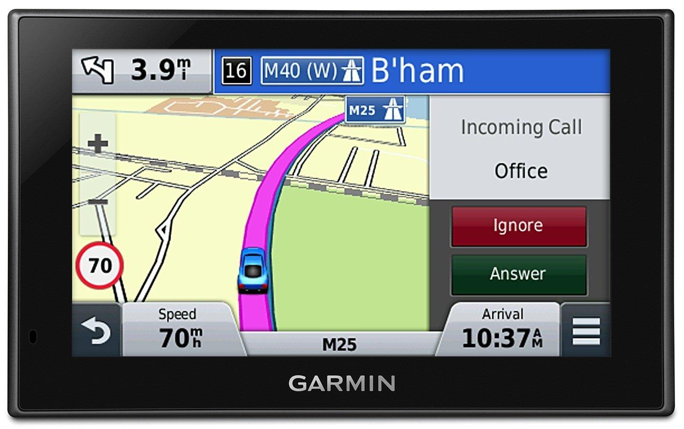 Garmin Nuvi Lmt Gps Satnav North America Usa Canada Uk Europe Maps Bluetooth