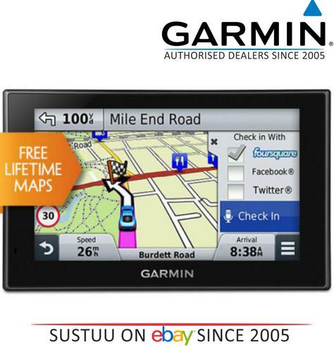 Garmin Nuvi 2559LMT GPS SATNAV North America USA Canada UK Europe Maps Bluetooth Thumbnail 1
