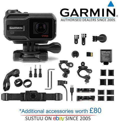 Garmin VIRB XE Full HD 1080P GPS ANT Outdoor Sports Waterproof Action Camera Thumbnail 1