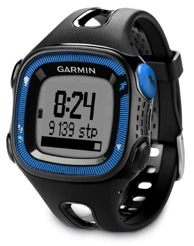 Garmin Forerunner FR15 GPS Speed & Distance Sports Watch Black/Blue Large Thumbnail 2