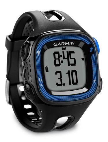 Garmin Forerunner FR15 GPS Speed & Distance Sports Watch Black/Blue Large Thumbnail 3