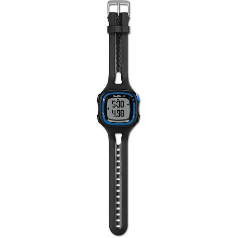 Garmin Forerunner FR15 GPS Speed & Distance Sports Watch Black/Blue Large Thumbnail 7