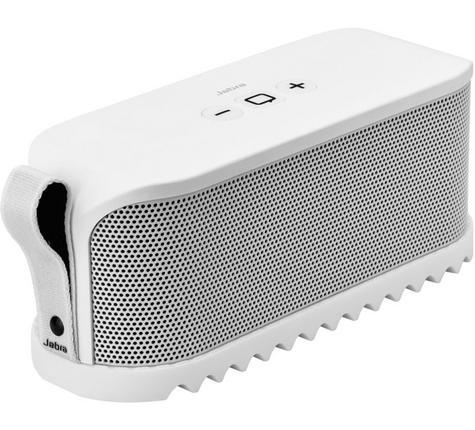 Jabra Solemate Wireless Bluetooth Stereo Portable Speaker White Dolby Digital + Thumbnail 1