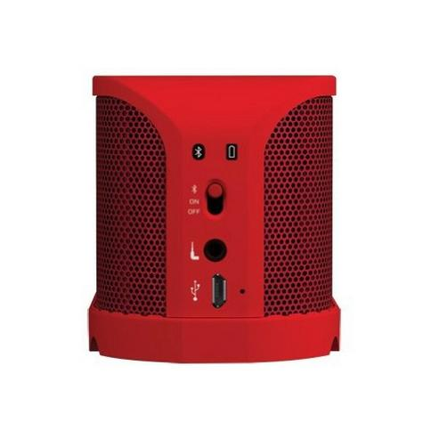 Jabra Solemate Wireless Bluetooth Stereo Portable Speaker Red Dolby Digital + Thumbnail 3