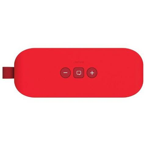 Jabra Solemate Wireless Bluetooth Stereo Portable Speaker Red Dolby Digital + Thumbnail 4