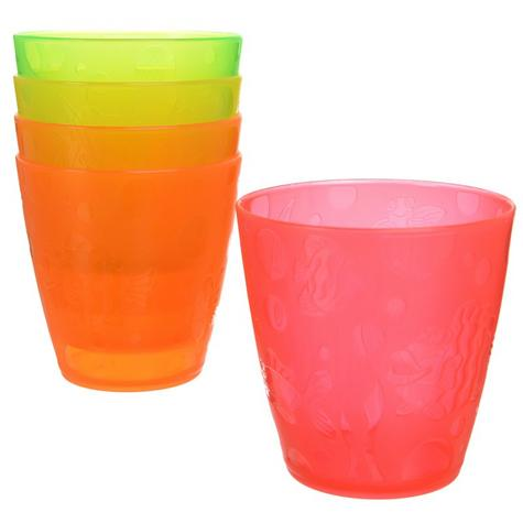Munchkin Kids Fun Multi Coloured Drinking Transition Cup Toddler Child Kids 5PK Thumbnail 1