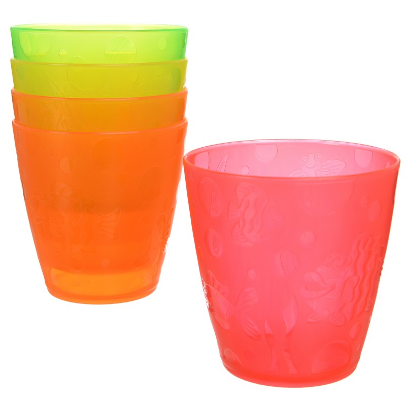 Munchkin Kids Fun Multi Coloured Drinking Transition Cup Toddler Child Kids 5PK