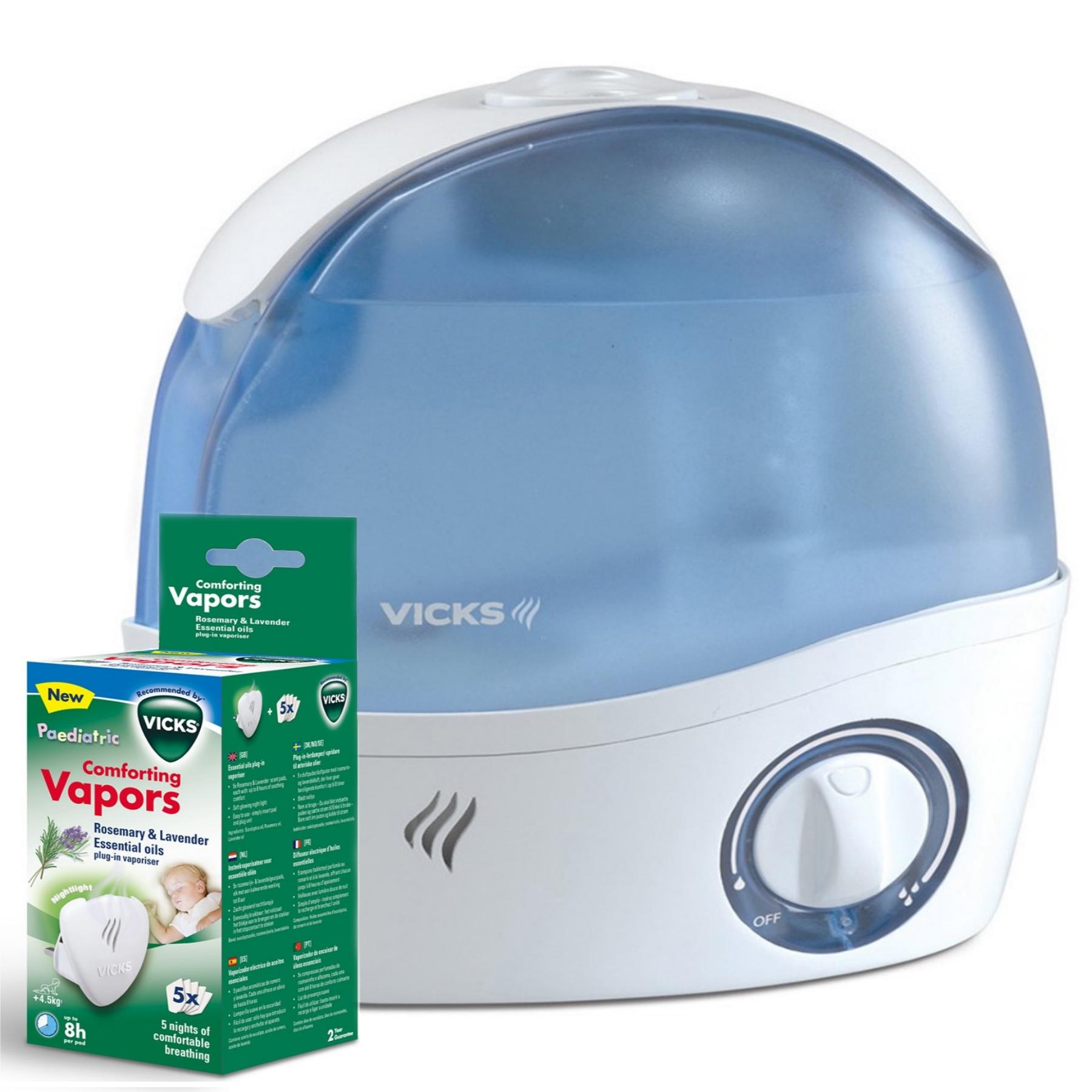 Paediatric Cool Mist Ultrasonic Mini Humidifier With VICVH1700 eBay #01774D
