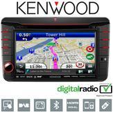 "KENWOOD DNX 525DAB 7"" MIB T6 Radio/DVD/Div X/CD/MP3 USB GPS SATNAV Bluetooth"