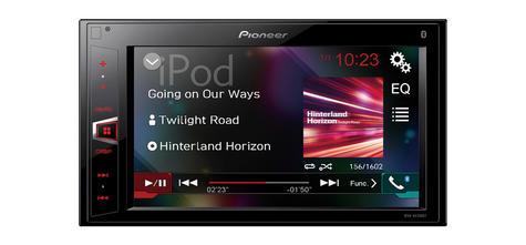 "NEW Pioneer MVH-AV290BT 6.2"" Touch 2 Din Car Stereo Bluetooth USB MP3 Headunit  Thumbnail 2"
