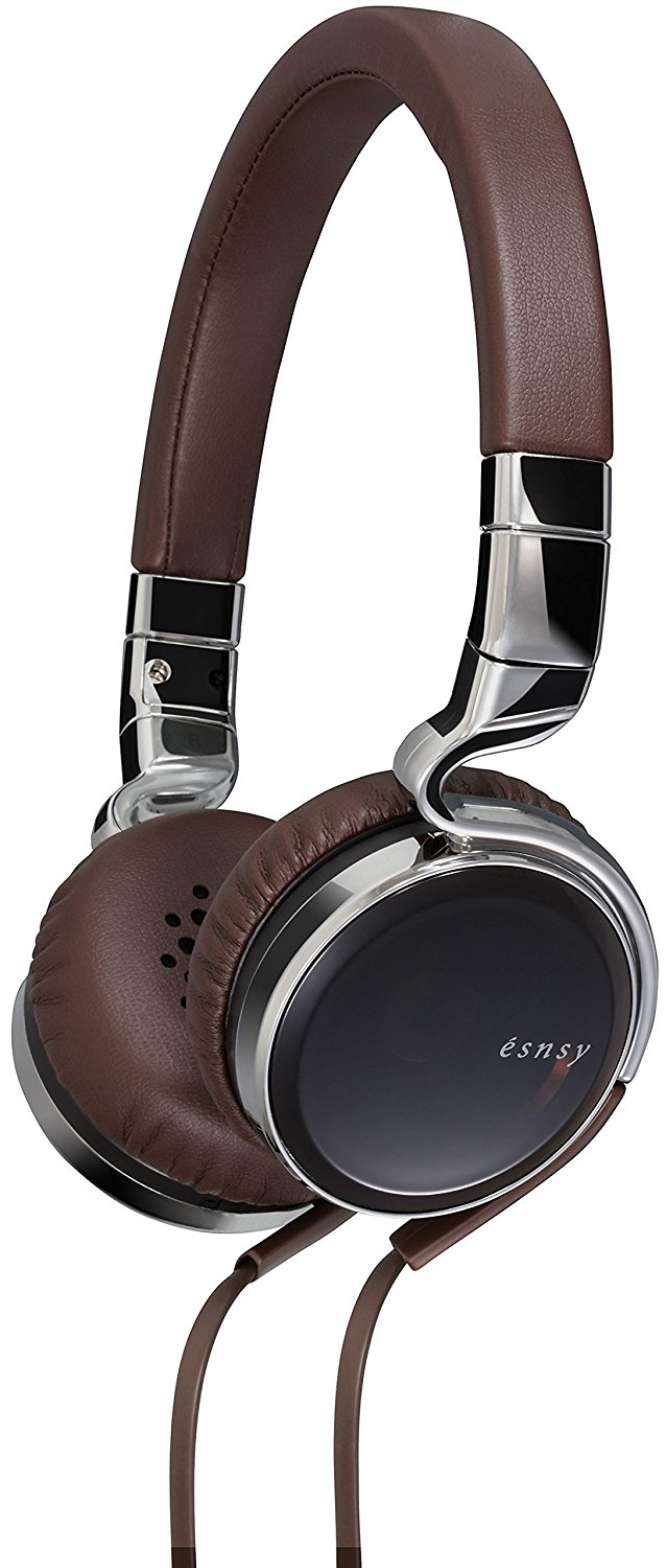 JVC Esnsy On-Ear Foldable Headphones with Mic & Remote for Smartphone & iPhone