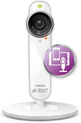 Philips Avent SCD860/05 Smart Baby Monitor + Free uGrow Medical Baby App NEW Thumbnail 7