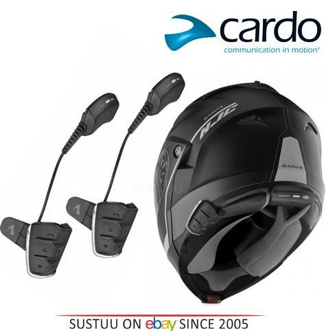 Cardo Scala Smarth Rider Duo Motorcycle Headset HD Speakers DMC Kit HJC Helmets Thumbnail 1