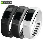 Official Garmin Large Wrist Band White Gray & Black for VivoFit2 Fitness Tracker