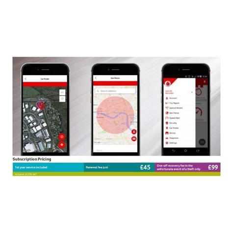 Cobra Vodafone Protect & Connect Entry Theft GPS Tracking System?24/7?EU Coverag Thumbnail 3