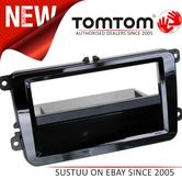 """C2 24VW17 Stereo Fascia Adaptor(Piano Black)With Pocket """"Perfect Fit"""" Design NEW"""