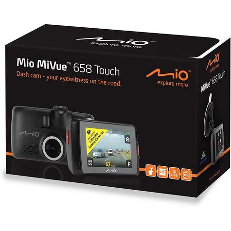 "Mio MiVue 658 2.7"" Touch Screen In Car Dashcam GPS Extreme HDR Accident Recorder Thumbnail 6"