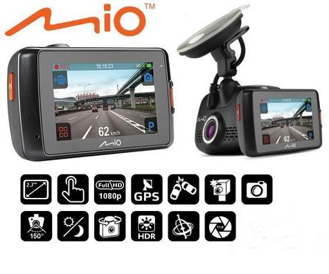 """NEW Mio MiVue 638 Touch Full 1080p HD 2.7"""" GPS Accident Recorder Dashcam Camera Thumbnail 2"""