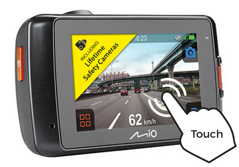 """NEW Mio MiVue 638 Touch Full 1080p HD 2.7"""" GPS Accident Recorder Dashcam Camera Thumbnail 3"""