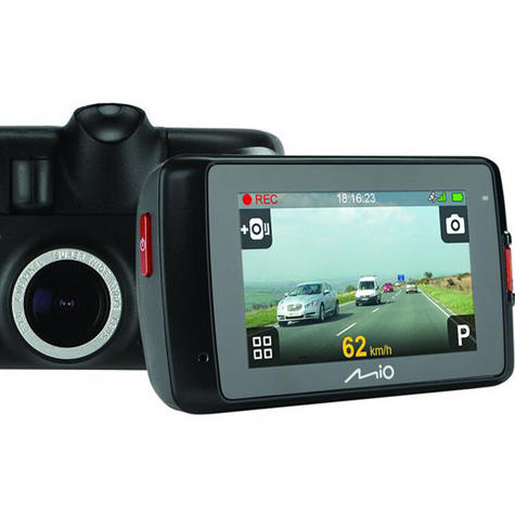 """NEW Mio MiVue 638 Touch Full 1080p HD 2.7"""" GPS Accident Recorder Dashcam Camera Thumbnail 7"""