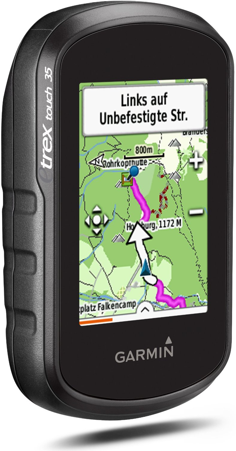 Sentinel Garmin Etrex Touch  Gps Outdoor Handheld Navigator With Topoactive Europe Maps