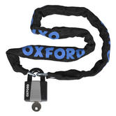 Oxford Chain Lock and Padlock 900x6mm - Black