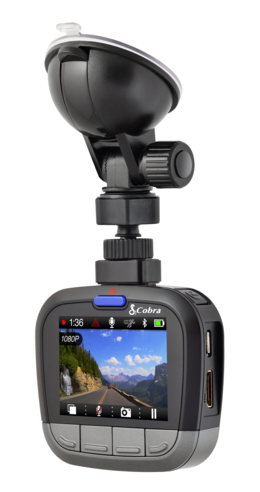 Cobra CDR 855 HD Ultra Wide DashCam 1080P HD Bluetooth & GPS Accident Recording  Thumbnail 6