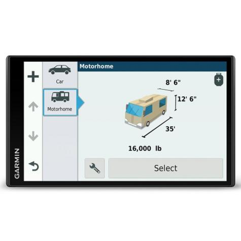 "Garmin Camper 770LMT-D 6.95"" WIFI GPS SATNAV with Free LifeTime Traffic & Maps Thumbnail 2"