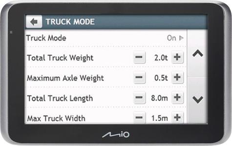"Mio MiVue Drive 65 LM Truck Caravan Motorhome 6.2"" SatNav/Dashcam *Free EU Maps Thumbnail 5"