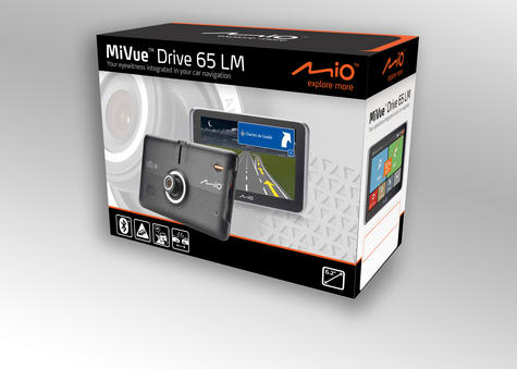 "Mio MiVue Drive 65 LM Truck Caravan Motorhome 6.2"" SatNav/Dashcam *Free EU Maps Thumbnail 6"
