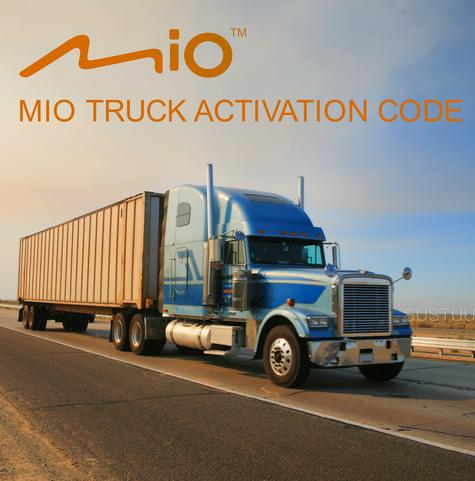 Mio Truck Activation Code For Mio & Mivue with Truck Mode Option  Thumbnail 1