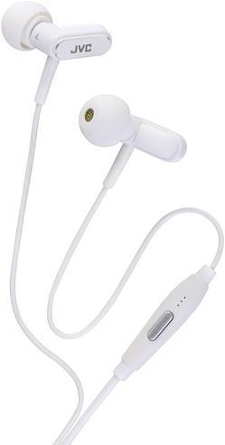 JVC HA-KX100-W In Ear Stereo Headset Headphone 3.5mm Jack for Apple iPhone iPod Thumbnail 3