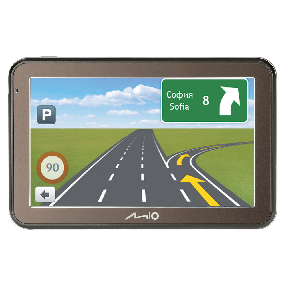 "Mio Spirit 5400LM 4.3"" In Car GPS SatNav Liftime EU Maps IQ Routes 5413N5020010"