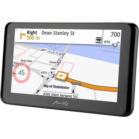 "Mio Spirit 5400LM 4.3"" In Car GPS SatNav Liftime EU Maps IQ Routes 5413N5020010 Thumbnail 4"