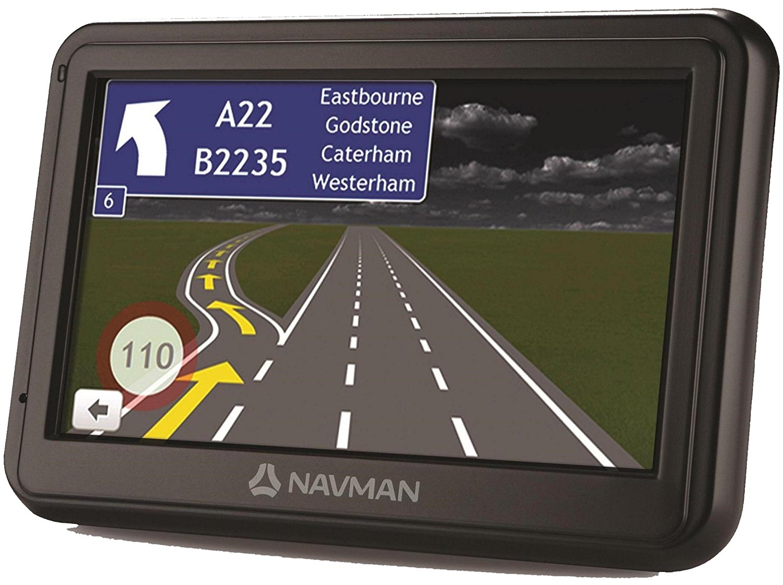 "Navman 4000LM EU 4.3"" GPS SATNAV UK & EUROPE Lifetime Maps + TomTom Smartroutes"