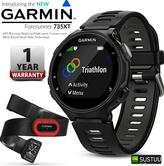 Garmin Forerunner 735XT GPS Fitness Sports HR Monitor Run Bundle Smart Watch NEW
