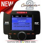 C2 AutoDAB GO-S Universal Car DAB Receiver Integrated Digital Radio/Bluetooth