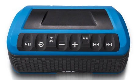Fusion Stereo Active Waterproof Speaker Bluetooth/USB/AM/FM/iPhone/Android BLUE Thumbnail 4
